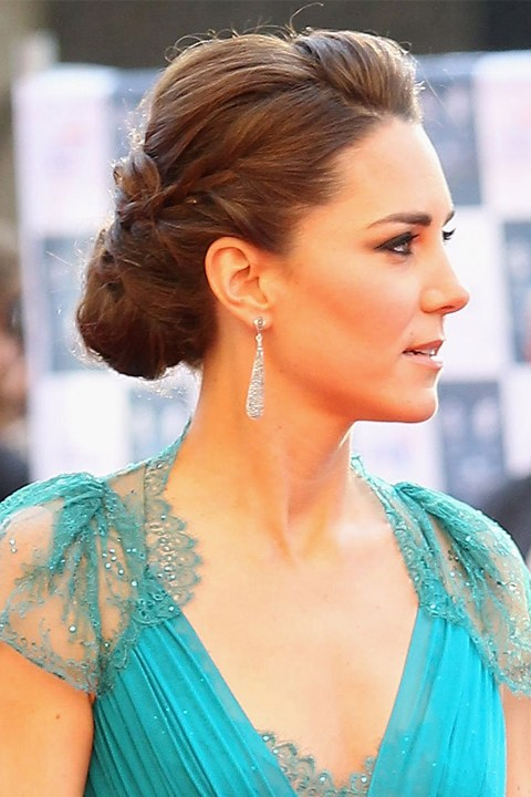 kate-middleton-wedding-hair-inspiration-_0008_Kate-Middleton-Wears-Braided-Bun-Up-Do