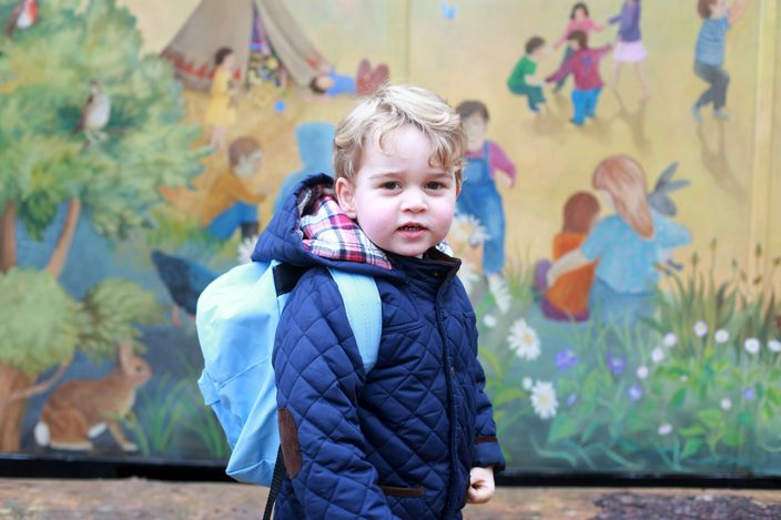 Britain Royals Prince George