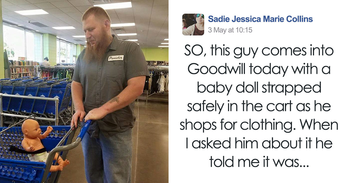 dad-buy-baby-doll-clothes-goodwill-store-keenan-watkins-fb